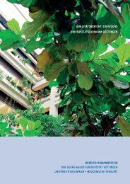 qualitätsbericht 2004/2005 universitätsklinikum - Georg-August ...
