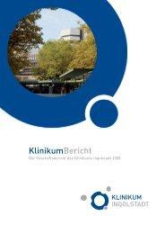 KlinikumBericht 2008 (737.42 KB) - Klinikum Ingolstadt