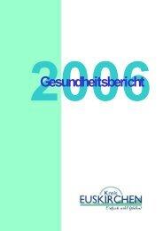 Gesundheitsbericht 2006 - Kreis Euskirchen