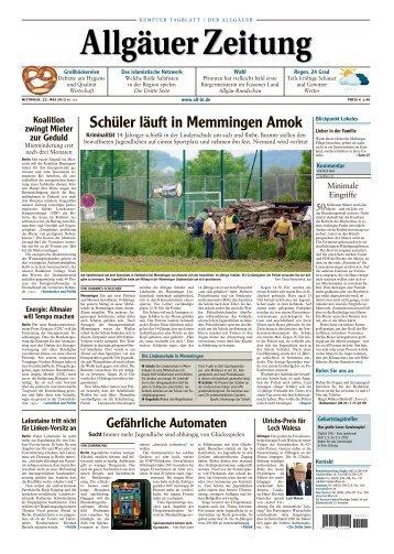 KEMPTER TAGBLATT - Allgäuer Zeitung als iPaper - All-in.de