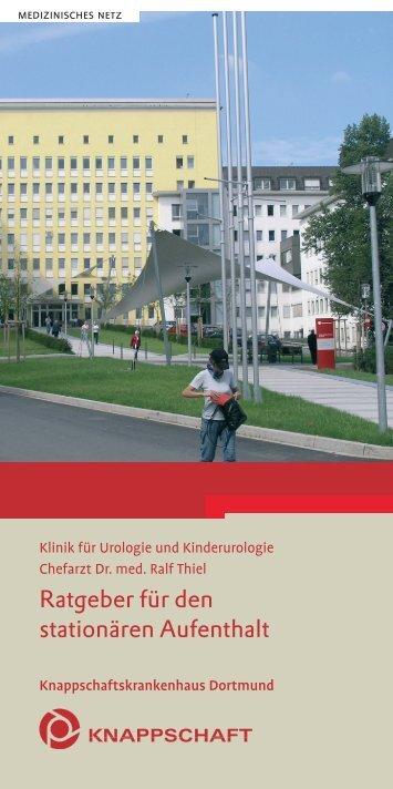 Ratgeber für den stationären Aufenthalt - Knappschaftskrankenhaus ...