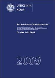 2009 - Zentralbereich Medizinische Synergien Uniklinik Köln