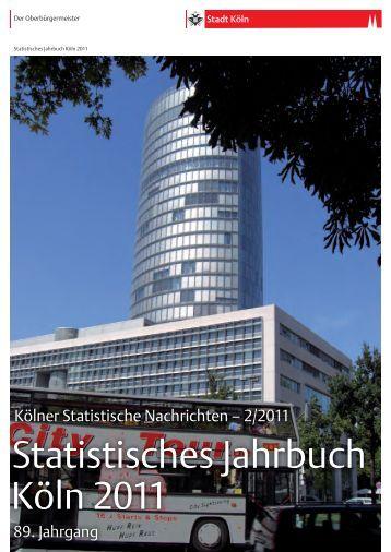 Statistisches Jahrbuch Köln 2011 - Stadt Köln