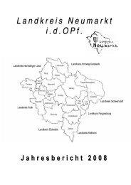 Jahresbericht 2008 - Landkreis Neumarkt