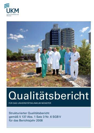 Strukturierter Qualitätsbericht