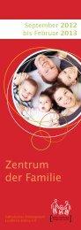 unser Programm - Zentrum der Familie Erding: Start