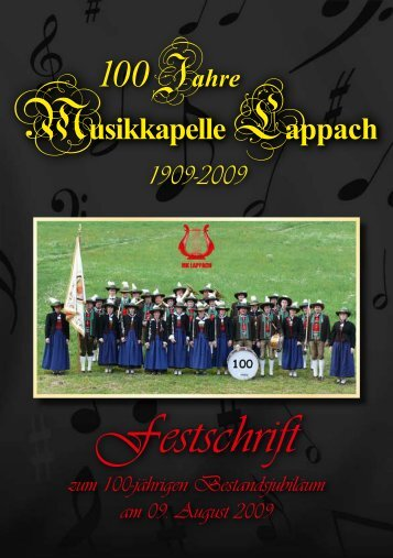 Chronik der Musikkapelle Lappach