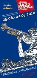 Download - Südtirol Jazzfestival