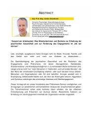 Adj. Prof. Mag. Stefan Geyerhofer - Österreichisches Netzwerk ...