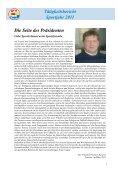 Tätigkeitsbericht Sportjahr 2011 - SSV Naturns - Page 2