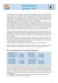 Tätigkeitsbericht Sportjahr 2011 - SSV Naturns - Page 4