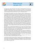 Tätigkeitsbericht Sportjahr 2011 - SSV Naturns - Page 7