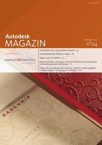 AutoCADmenu - Mensch und Maschine