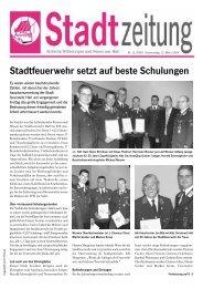 Stadtzeitung - in Hall in Tirol