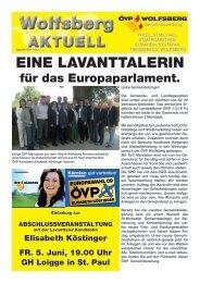 Wolfsberg Wolfsberg - ÖVP Kärnten