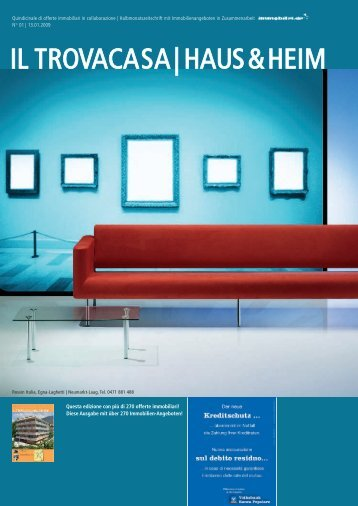 Quindicinale di offerte immobiliari in collaborazione - Longo Group ...