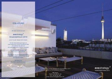 Einladung als PDF - BBT GmbH