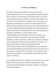 Kapitel 2 - Von Stiftern und Stiftungen - Hotel Baseler Hof