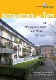 Informationen und Tipps für Wohnungssuchende ... - Stadt Heilbronn