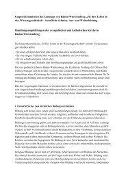 "Enquetekommission des Landtags von Baden-Württemberg ""Fit fürs ..."
