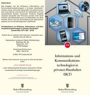 Informations - Statistisches Landesamt Baden-Württemberg