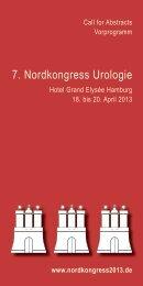 Vorprogramm Nordkongress 2013 als pdf-Datei herunterladen - 7 ...