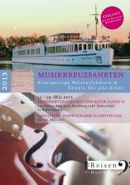 Musikkreuzfahrten 2013 - ADAC Musikreisen