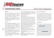 infos zum sammeln 1/10 - Radtouren Magazin