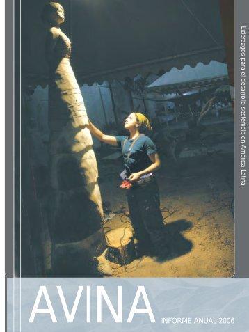 Informe Anual 2006 - Fundación AVINA
