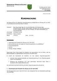 08. Juni 2010 (266 KB) - .PDF - Gemeinde Strass im Zillertal