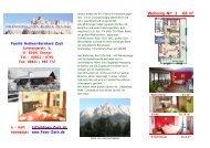 Infos auf einen Blick: Unser Hausprospekt zum - Ferienwohnungen ...