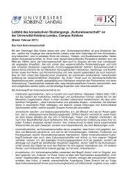 Leitbild - Universität Koblenz · Landau