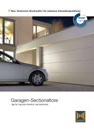 Garagen-Sectionaltore