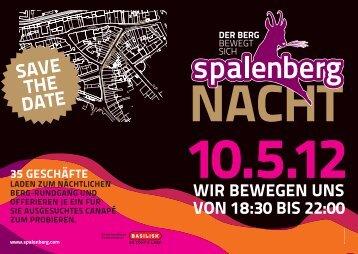 2. Flyer Spalenberg-Nacht