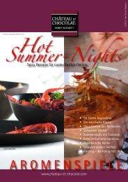 Summer-Nights AROMENSPIELE Hot - château et chocolat