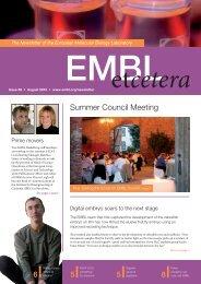 Summer Council Meeting - EMBL Grenoble