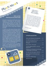 Newsletter 3 | März 2011 - Montessori Neuruppin