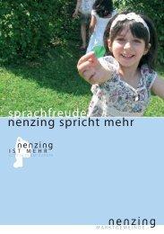 Folder als PDF - Marktgemeinde Nenzing