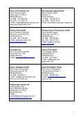 Adressliste geförderter Firmen - Page 3