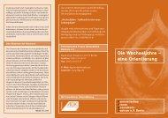 Faltblatt: Die Wechseljahre - Eine Orientierung - FFGZ