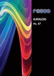 Katalog Rosco 2010 - ECM