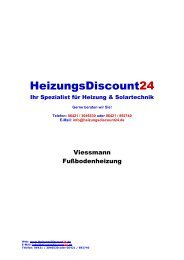 Viessmann Tackersystem - HeizungsDiscount24.de