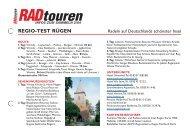 regio-test rügen - Radtouren Magazin