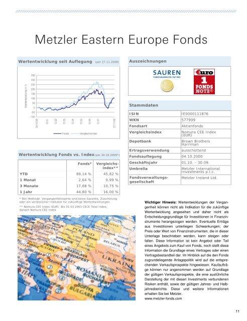 Deutschlands höchste Riester-Rente: DWS ... - LARANSA AG