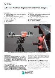 Advanced Full-Field Displacement and Strain ... - Prager Elektronik
