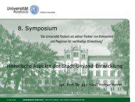Historische Aspekte der Stadt-Umland-Entwicklung - Universität ...