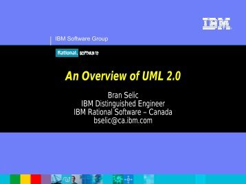 An Overview of UML 2.0 - Object Management Group