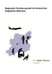 Langversion der Studie Regionaler Strukturwandel im Umland des
