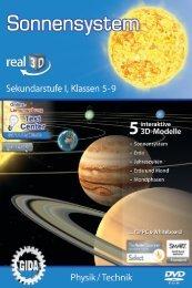 Sonnensystem – real3D - GIDA