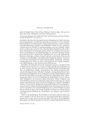 NEUE LITERATUR Jaworski, Rudolf / Loew, Peter ... - Recensio.net